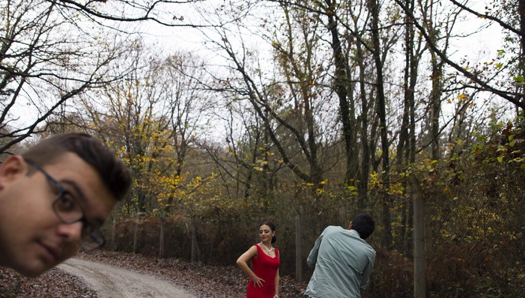 Belgrad Ormanı Düğün Fotoğrafları Kamera Arkası