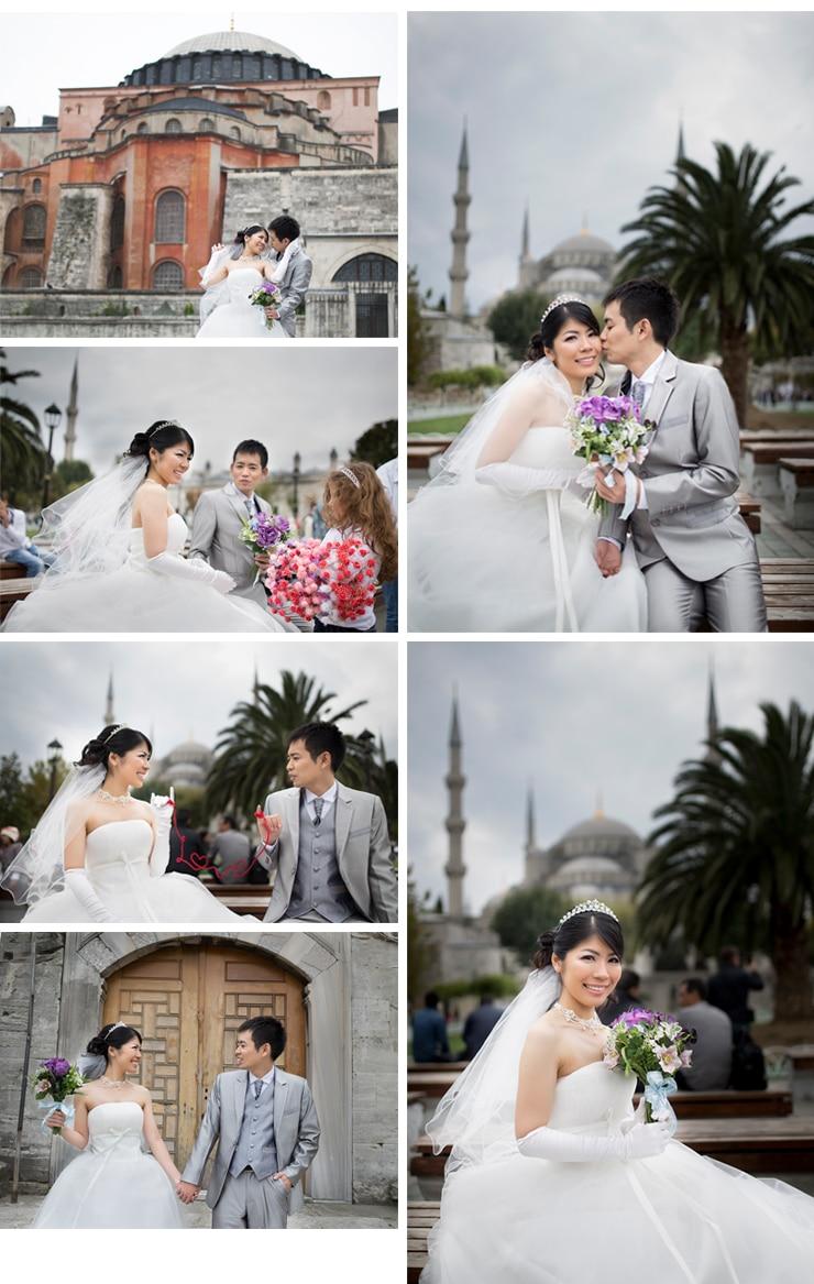 ayaka ve kazuhiro düğün fotoğrafları