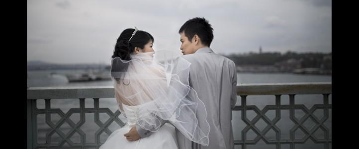 Japon Çiftimiz Ayako ve Kazuhiro'nun Düğün Fotoğrafları