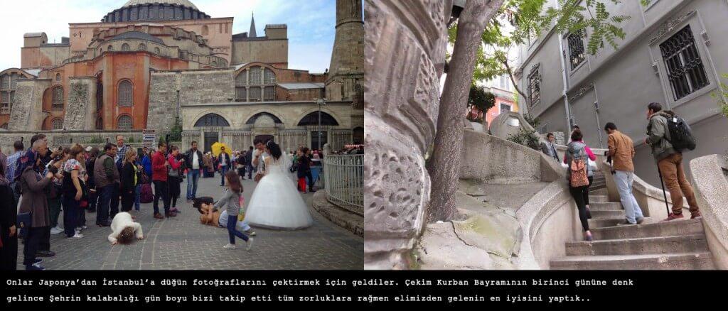 Sultanahmet Düğün Fotoğrafları Kamera Arkası